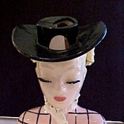 "Lady Head Vase Betty Lou Nichols 8.5"" Nancy Lou"