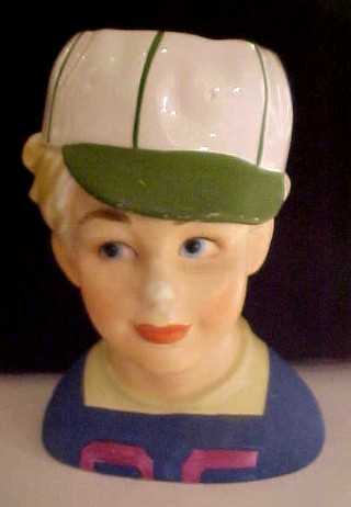 Tom Boy Head Vase Planter