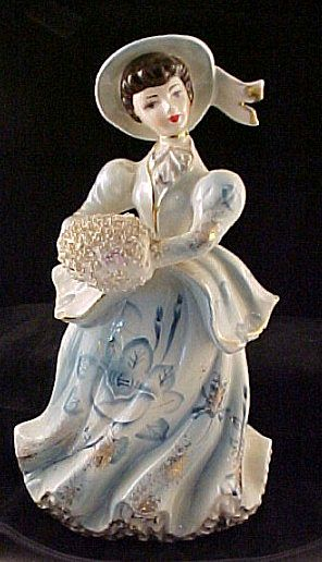 Lady Figurine with Muff