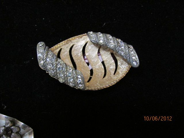 Vintage Signed BSK Brooch