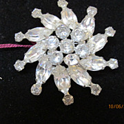 Vintage Fabulous Weiss Brooch Pin Signed