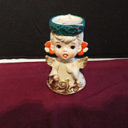 Christmas Angel Candle Holder Lefton