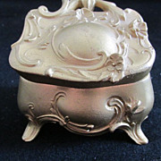 Vintage Small Jewelry Casket