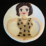Lady Trinket Plate, Holder