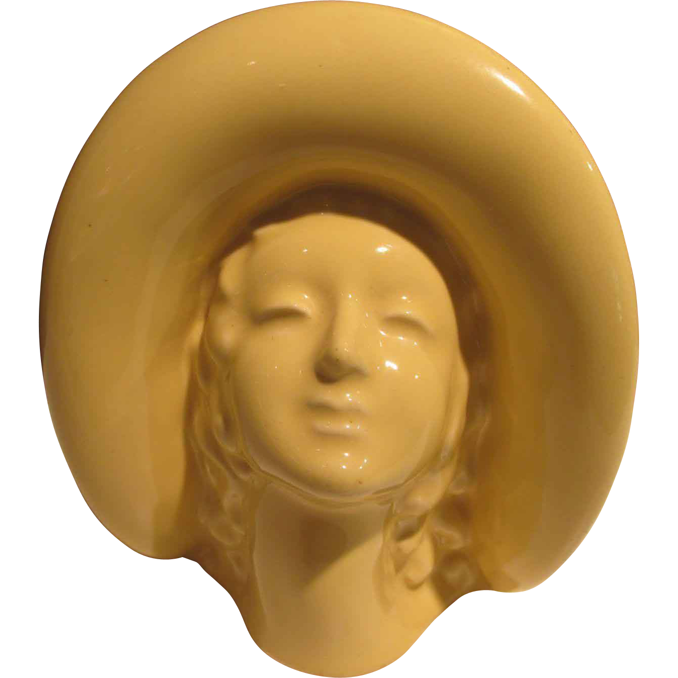 Lady Deco Head Vase Wall Pocket