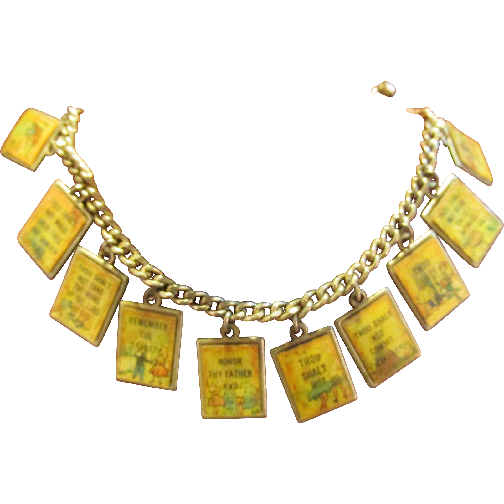 Ten Commandments Bracelet Flicker Action Vari-Vue