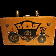 Enid Collins Original Box Bag Vintage Carriage Trade