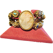 Cameo Double Slide Goldette Bracelet