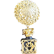 Perfume bottle Charm Brooch Pin