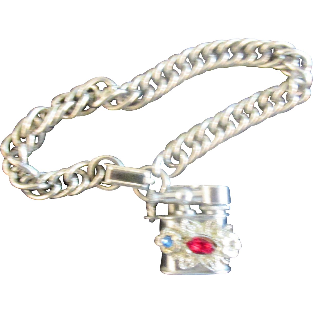 Miniature Lighter Charm Bracelet