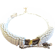Miriam Haskell Tiny Seed Beaded Bracelet