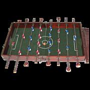 Vintage Wooden Traveling Foosball Game Table