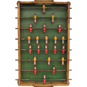 Vintage Wooden Foosball Game