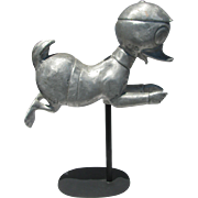 Vintage Aluminum Duck Child's Carousel Ride