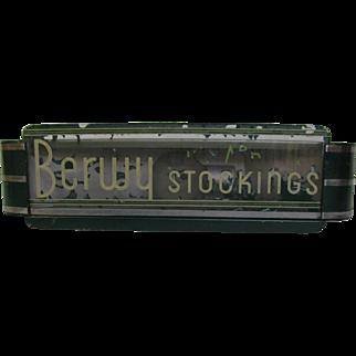 Vintage Art Deco Light Box Advertising Stockings
