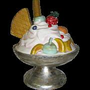Vintage Store Display Ice Cream Sundae