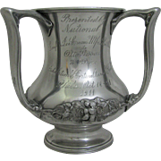 Antique Philadelphia Ice Cream Trophy Cup