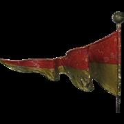 Antique Circus Tent Flag