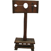 Antique Wooden Pillory