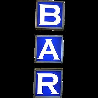Vintage Bar Sign Corner Bar Philadelphia