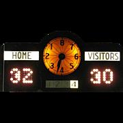 Vintage Highschool Basketball Score Board