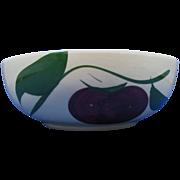 Watt Ware Apple pattern salad bowl #74