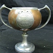 Antique Ten Mile River Regatta Trophy 1910