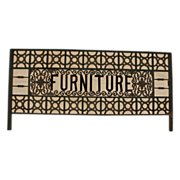 Fabulous & Rare Victorian Furniture Trade Sign
