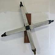 Antique Folk Art Americana Windmill Blades