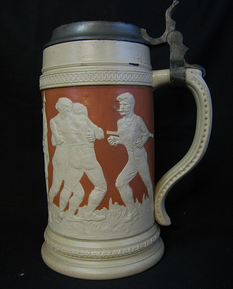 Vintage Olympic Sports Stein