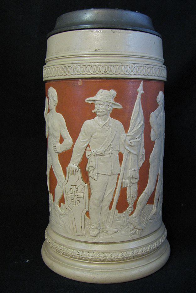 1 Liter Ceramic Beer Stein Ceramic Beer Stein Mug