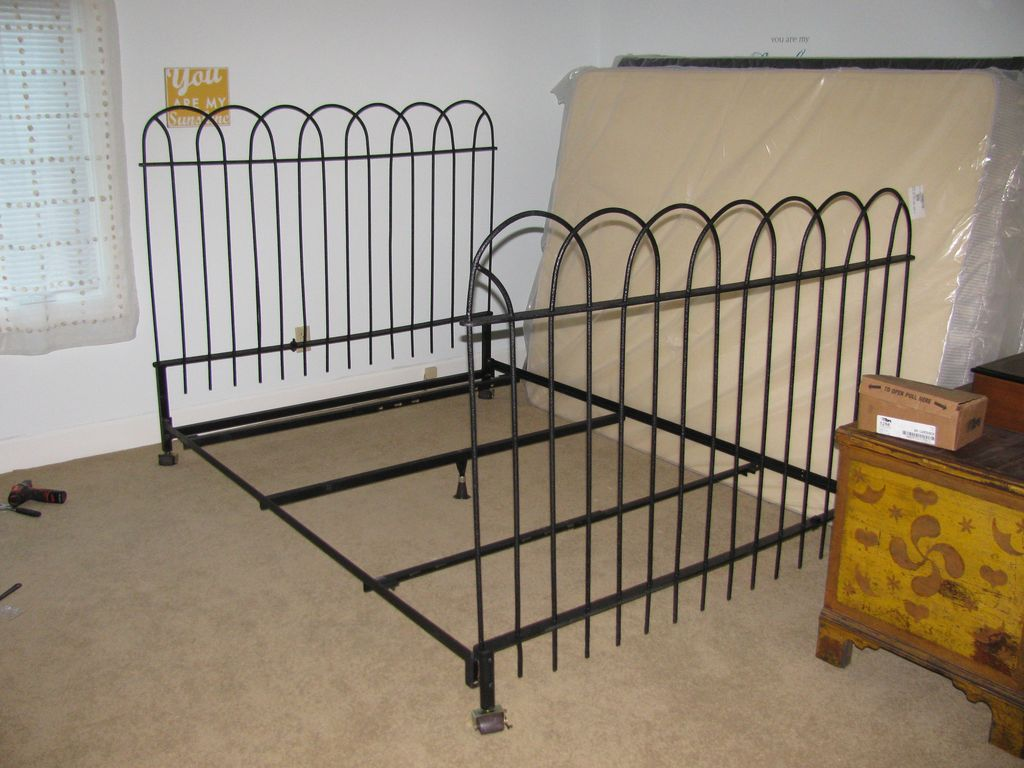 Hairpin Queen Bed Frame