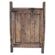 Antique Relic Wooden Door Or Gate Southwestern Americana