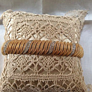 Vintage Gold-tone Bracelet by Ciner