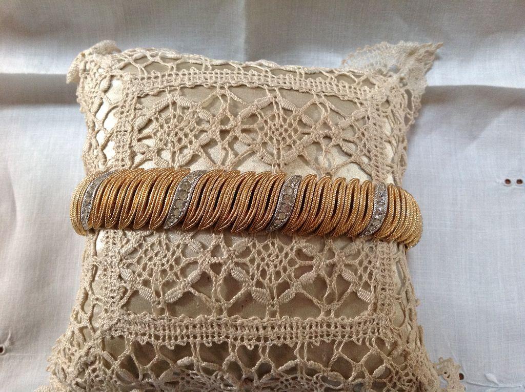 Vintage Gold-tone Bracelet by Ciner