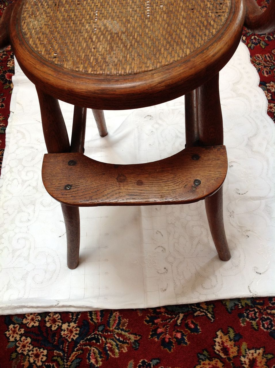 Antique high chair bentwood - Roll Over Large Image To Magnify Click Large Image To Zoom