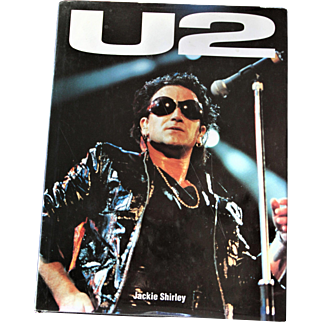 U2-1993 Hardcover Book-Jackie Shirley Author-Full Color-Their Rise to Fame
