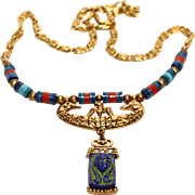 Art Company Necklace-Egyptian Theme-Bright and Fun