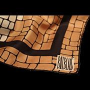 Bill Blass Silk Scarf-Vintage 23 Inch Gent's Accessory