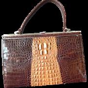 Australian Salt Water Crocodile Bag.