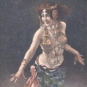 Bohemian Artist 'Salome' Postcard