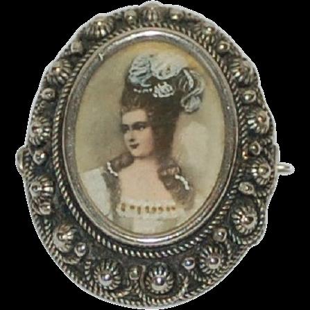 italian silver grand tour madam de pompadour