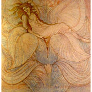Burne-Jones Art Nouveau English Decorative Arts Annual Journal 1900.