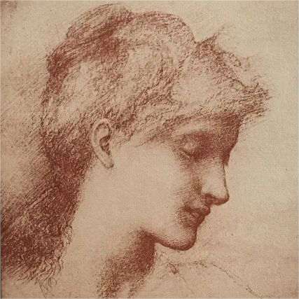 Rare Original Signed French Lithograph 'Beauty' By Burne-Jones 1898 L'Estampe Moderne series.