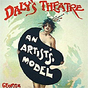 Original French Limited Edition Lithograph 'An Artist's Model' from Les Maitres de L'Affiche series 1895