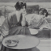 Two Studio Magazine Engravings 1913.