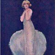 London Advertising Postcard 'The Pearl Girl' Shaftesbury Theatre 1913.