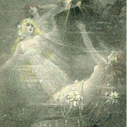 German Rheingold Maidens Opera Postcard c1900