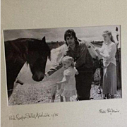 Paul McCartney Original Artist Signed Photograph 1975.