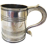 Sterling Silver Christening Mug: Mappin and Webb: Hallmarked 1923